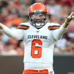 Baker Mayfield Rips Giants Picking QB Daniel Jones in Article and DraftKings Creates Prop Bet Out from the Fracas