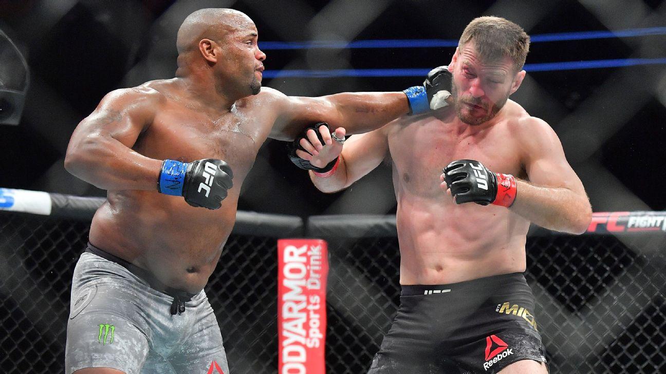 Daniel Cormier Miocic UFC 241