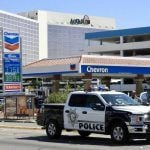 Officials Review Fatal Shooting In Laughlin, Nevada Of Armed Robbery Suspect Outside Aquarius Casino
