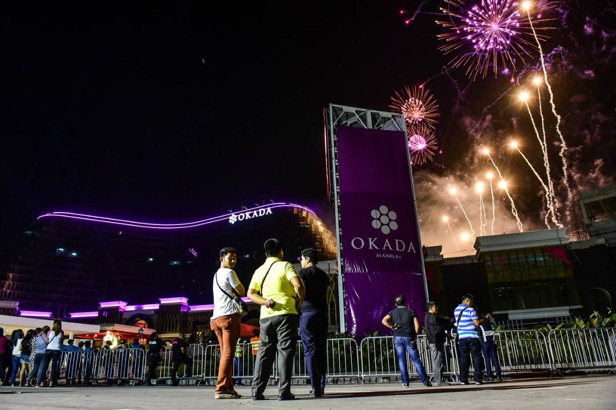 Okada Manila casino revenue