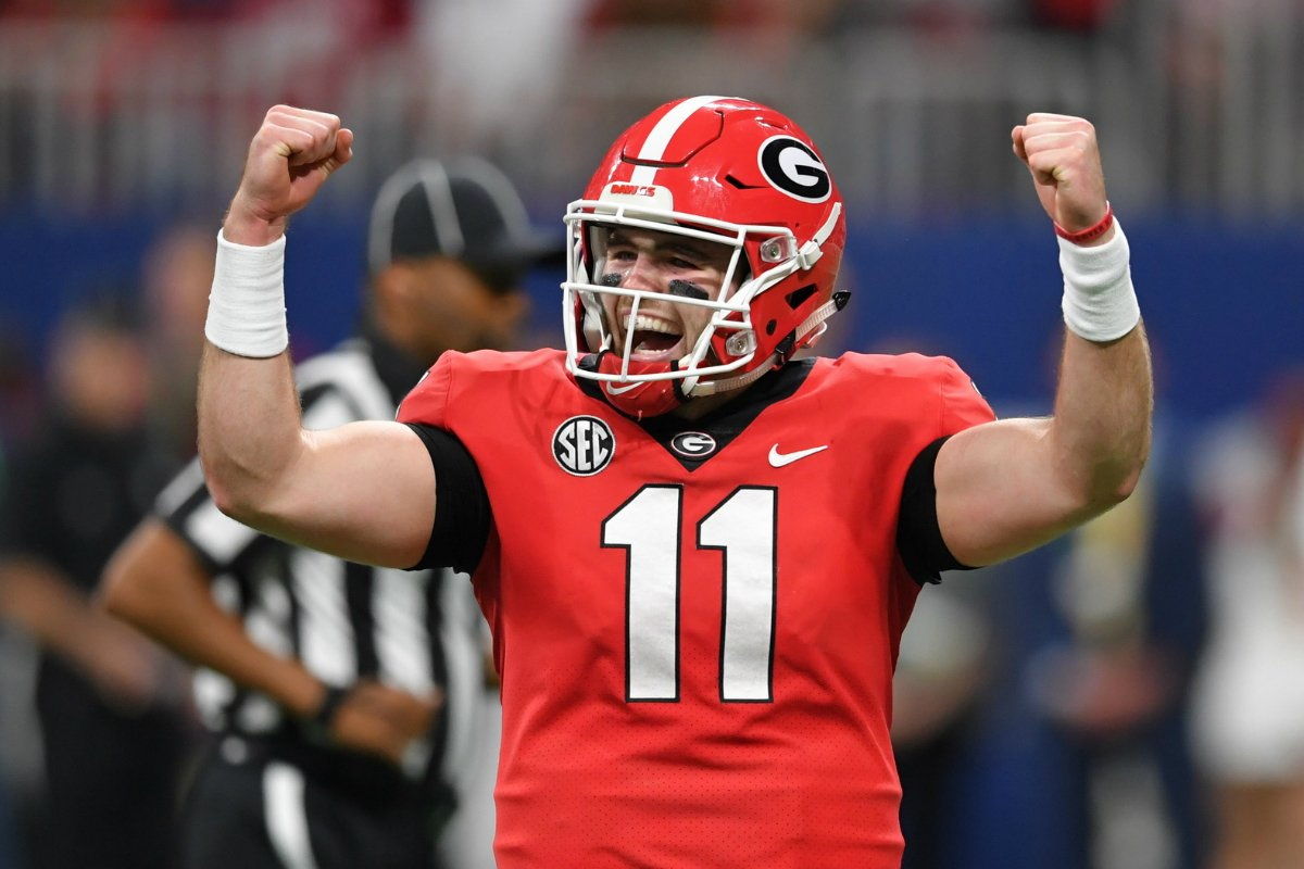 Georgia Bulldogs college football odds