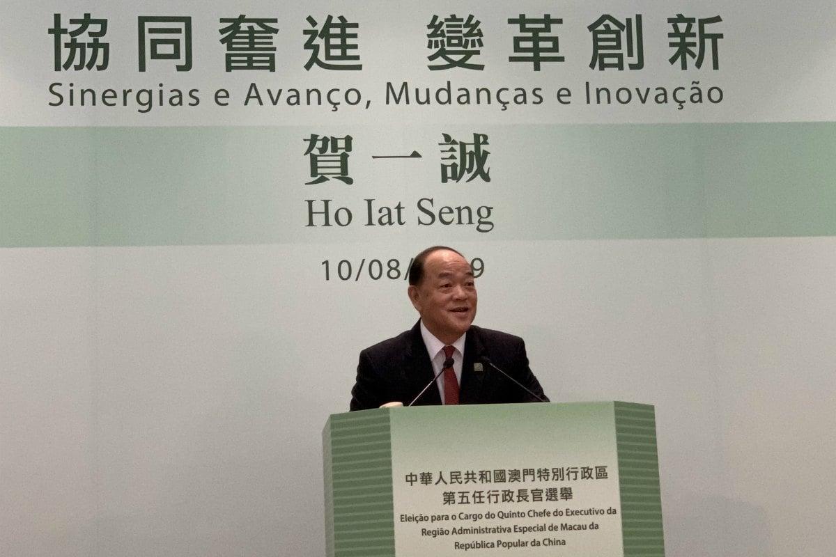Macau chief executive China casino