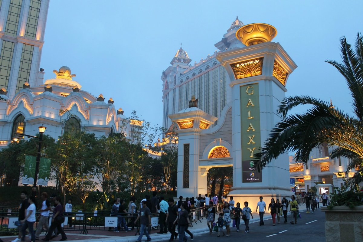 Galaxy Entertainment earnings Macau casino