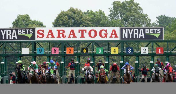 Saratoga Race Course sports betting handle