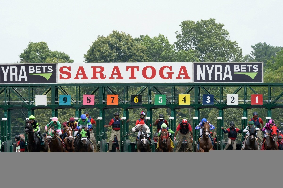Saratoga Race Course sports betting handle