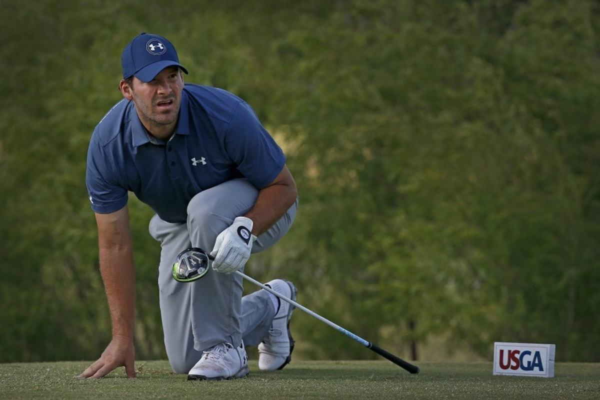 Tony Romo golf odds PGA Tour