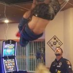South Dakota Casino High-Wire Man Crashes Through Ceiling to Avoid Cops (Spoiler Alert: It Doesn't Work)