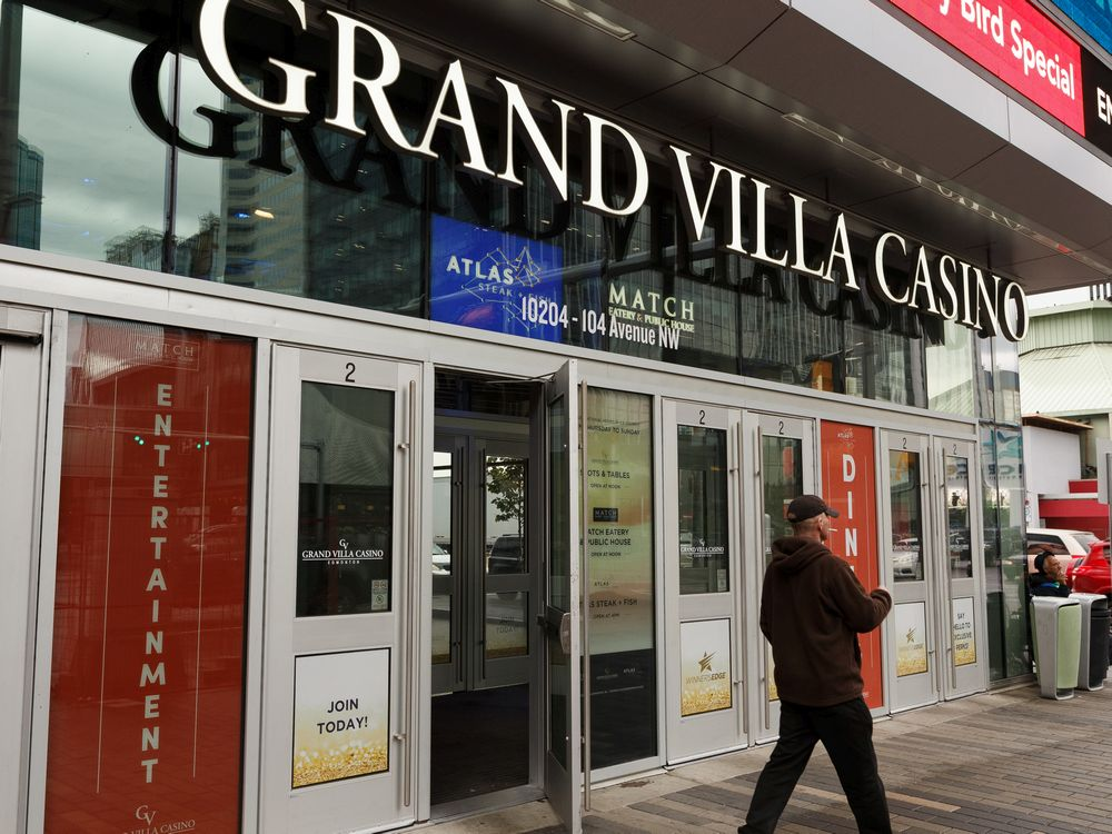 Grand Villa Casino, Edmonton