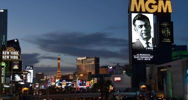 MGM Resorts Kirk Kerkorian