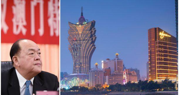 Macau chief executive China casino license