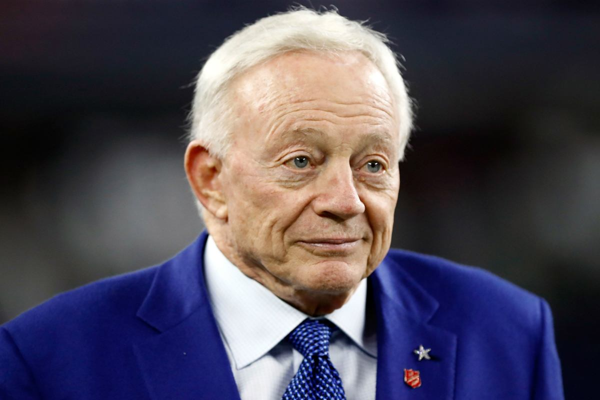 Jerry Jones Dallas Cowboys odds