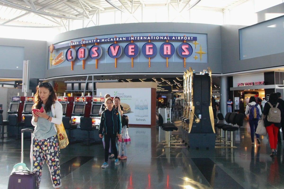 Las Vegas airport McCarran slot