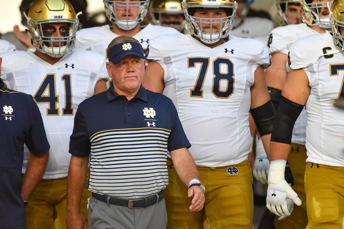 college football odds Notre Dame