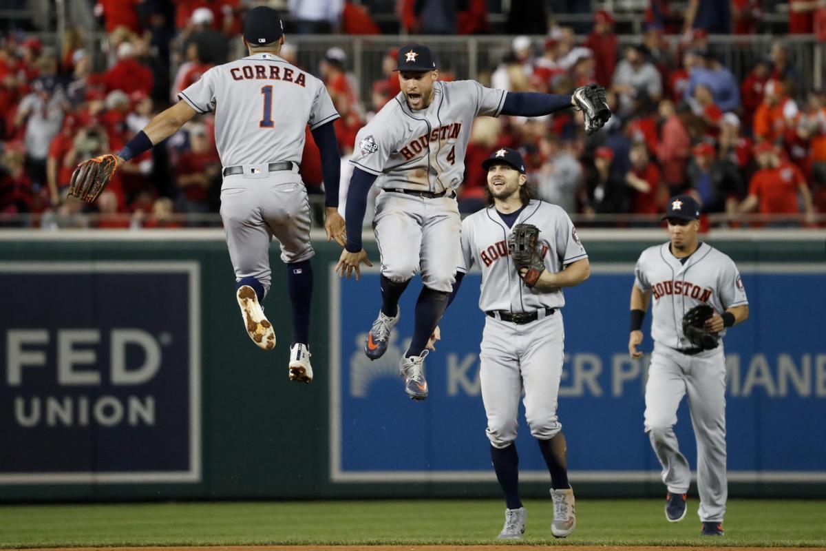 Houston Astros World Series Washington Nationals