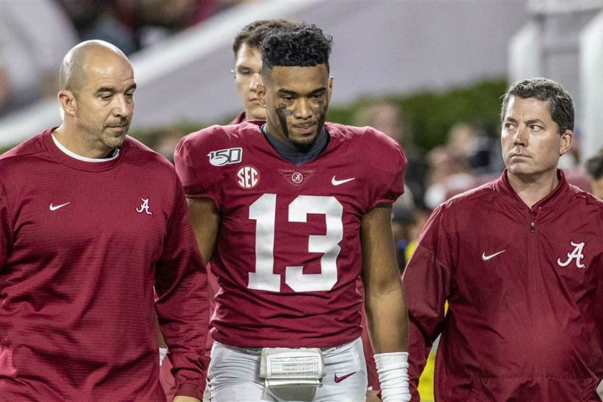 college football odds Tua Tagovailoa