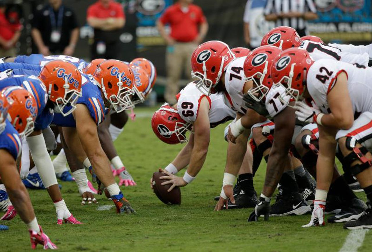 Florida Georgia Week 10 college football