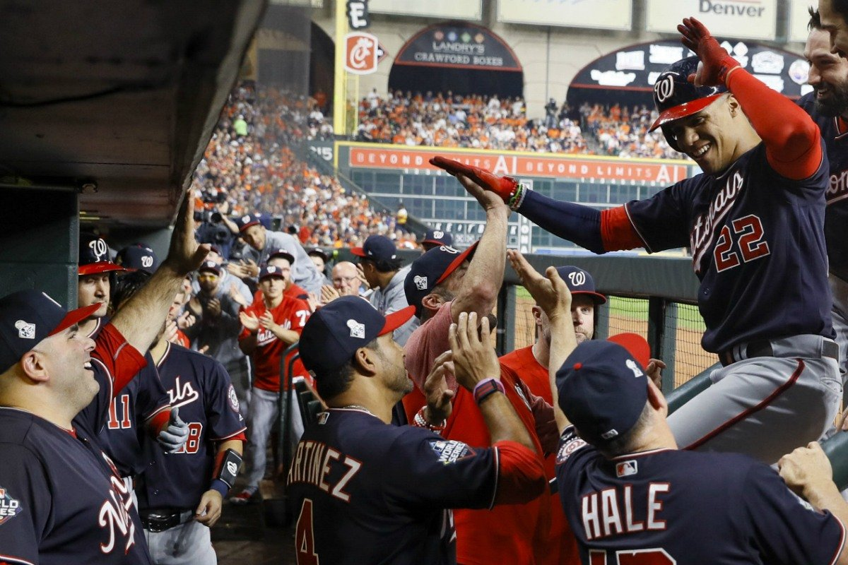 Houston Astros World Series odds Nationals