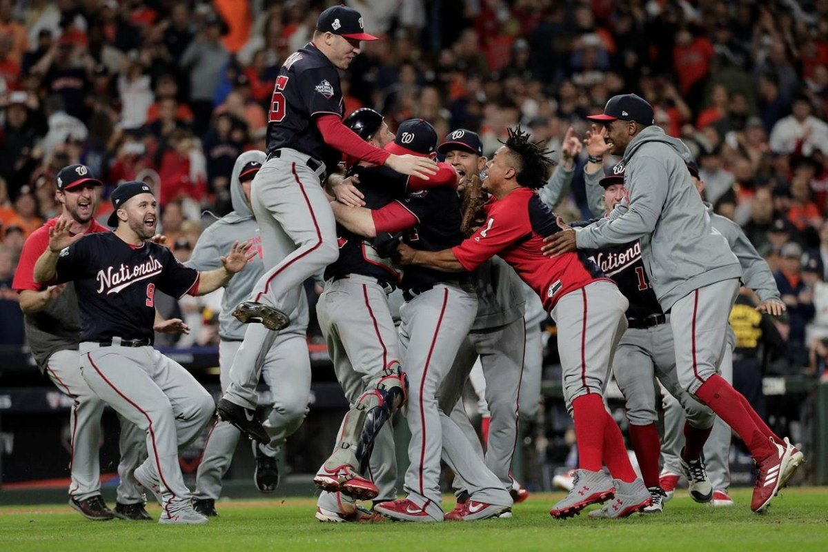 World Series odds Washington Nationals