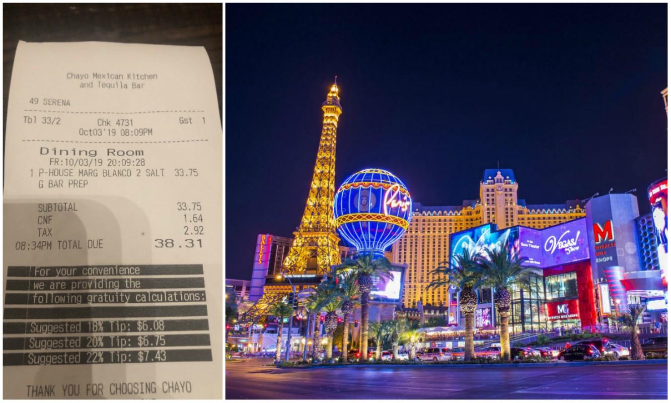 Las Vegas casinos resort fee
