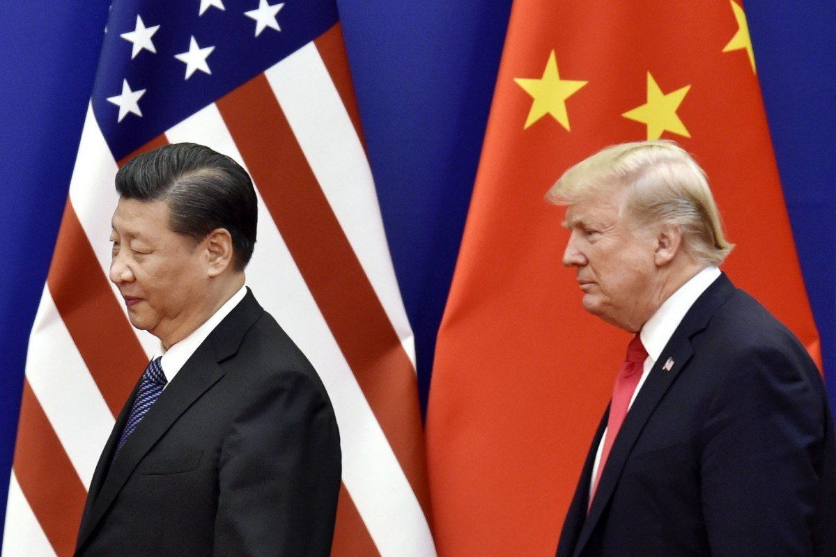 China Trump Xi trade war