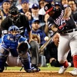 Washington Nationals Stunning Dodgers Upset A Home Run for Oddsmakers, Slight Favorites in NLCS