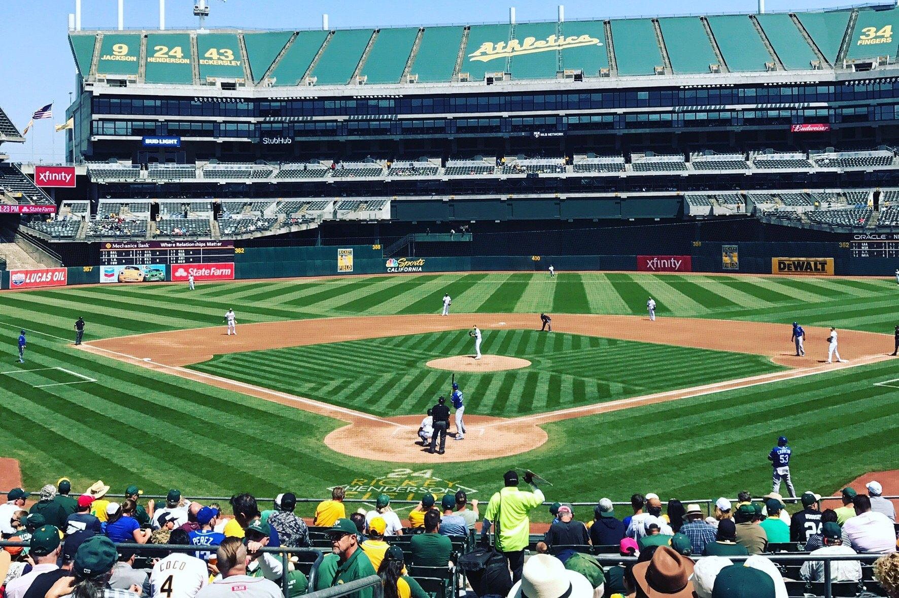 Oakland A's Las Vegas MLB odds