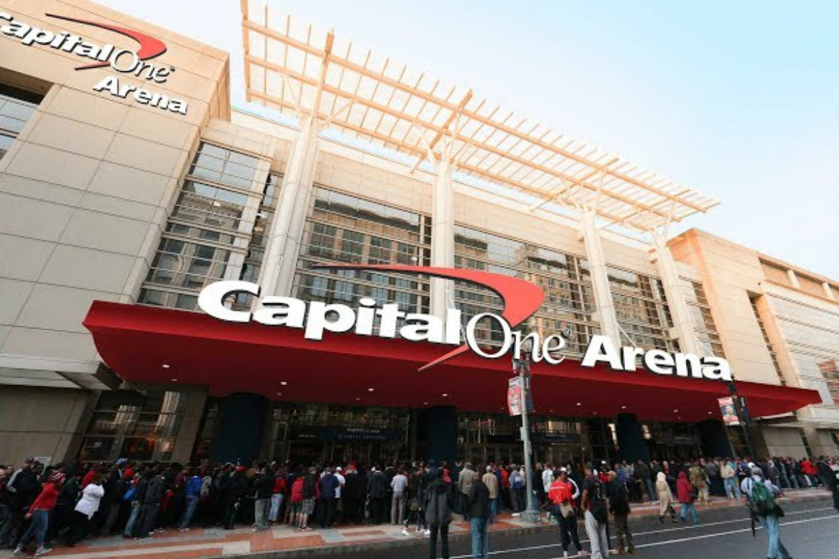 Ted Leonsis Capital One Arena sportsbook