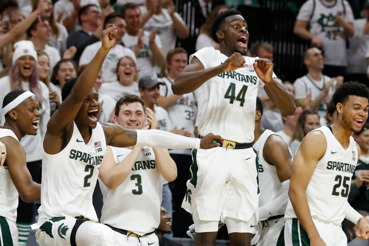 Michigan State basketball odds NCAA