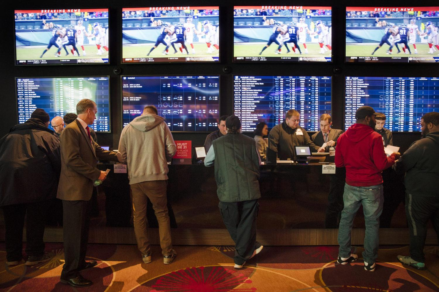 sports betting handle odds