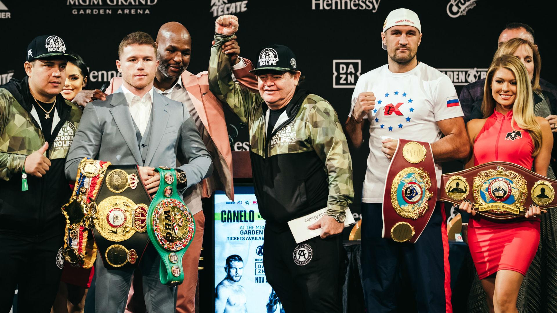 canelo and kovalev fight