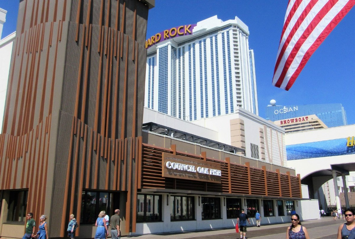 Atlantic City casino profits
