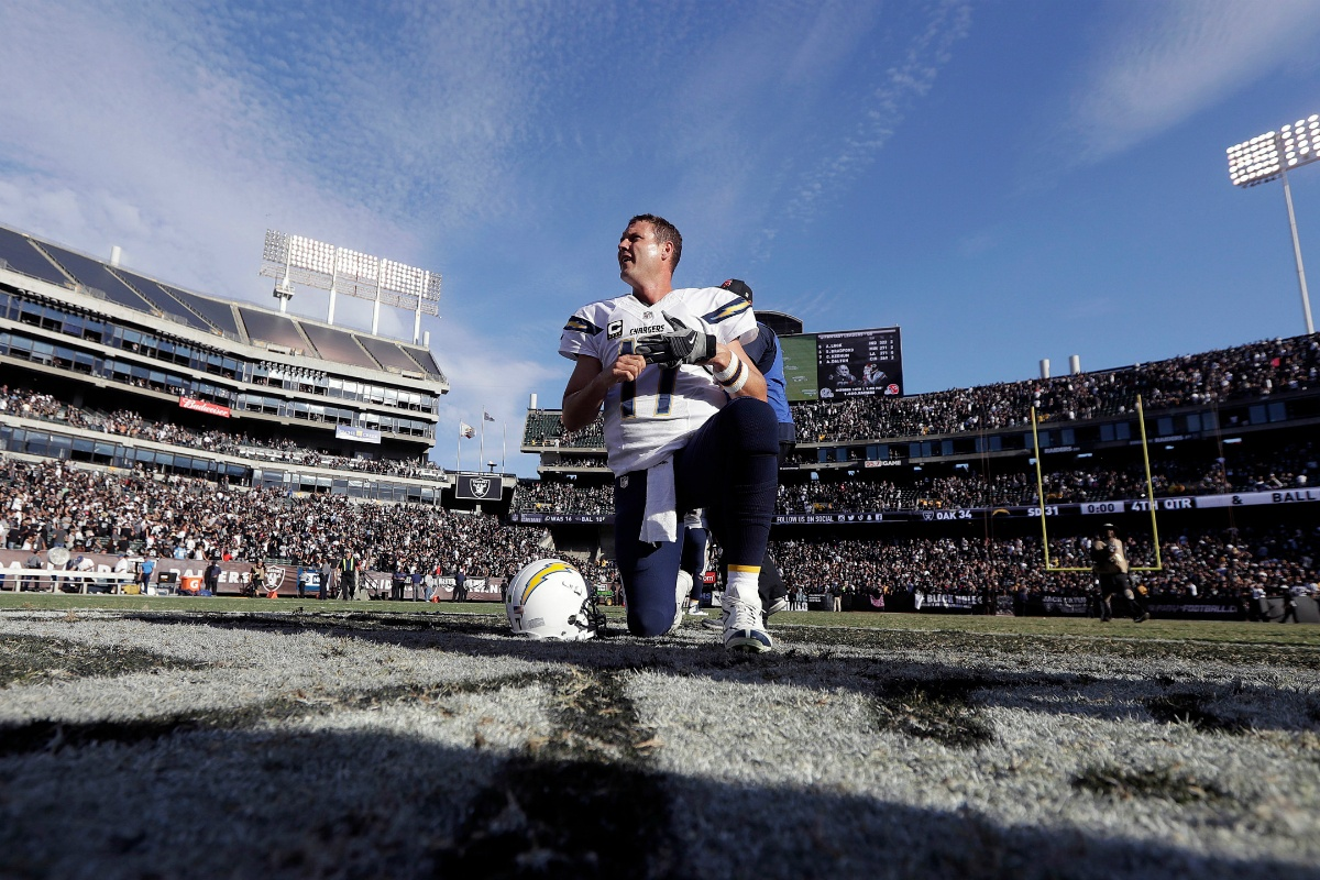 Los Angeles Chargers Oakland Raiders odds