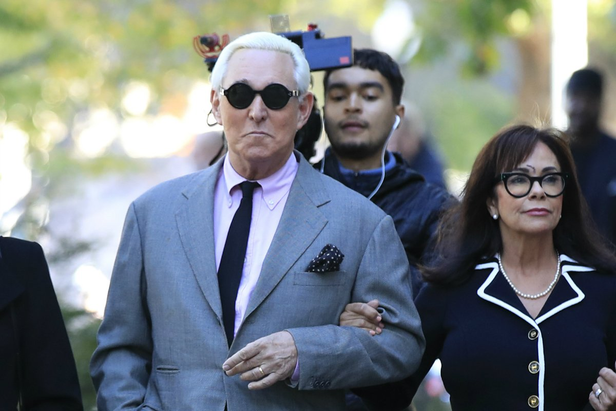 Roger Stone trial odds Trump