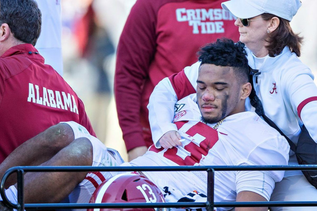 college football odds Alabama Tua