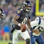 Week 10 Sunday NFL Odds: Ravens, Saints, Colts Heavily Favored
