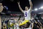 college football odds LSU Clemson OSU