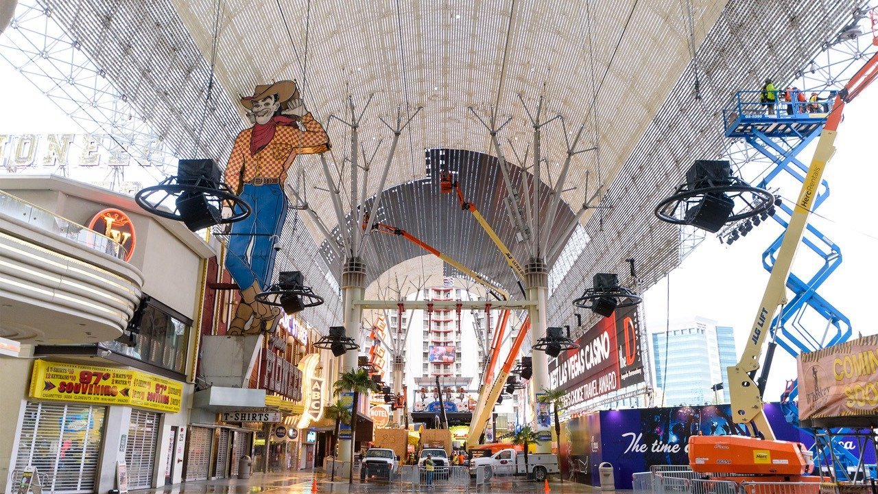 Fremont Street Experience to Unveil Renovated $32M Viva ...