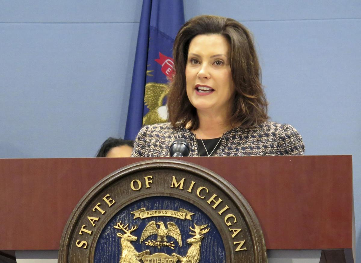 Michigan sports betting Gretchen Whitmer