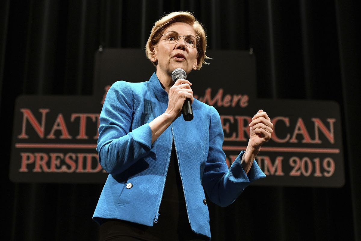 Elizabeth Warren Native American 2020