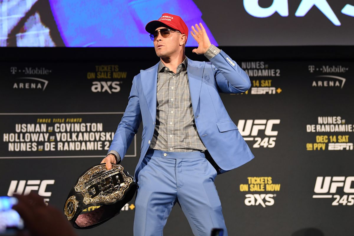 UFC 245 Betting Usman Covington