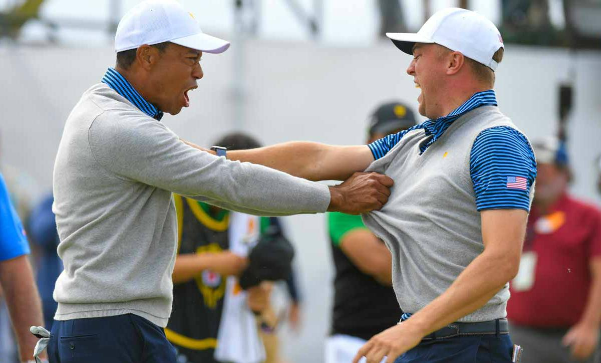 Presidents Cup golf odds Woods