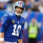 Eli Manning Back for Giants on Monday Night Football, But Struggling Eagles Still Favorite