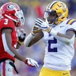 SEC Championship Odds: LSU Favored Over Georgia with College Football Playoff Berths on the Line
