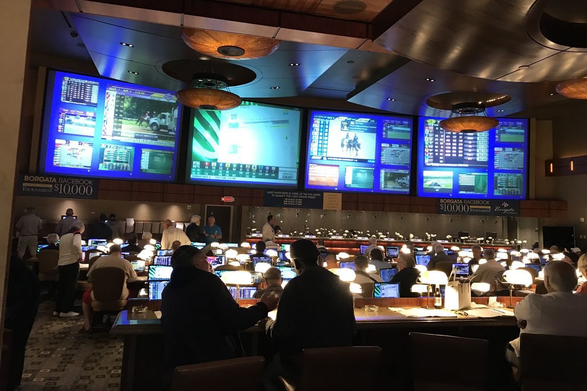 Atlantic City sports betting revenue