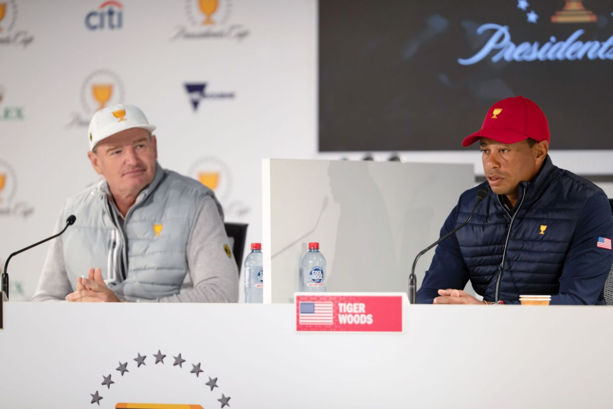 Presidents Cup golf odds Tiger Woods