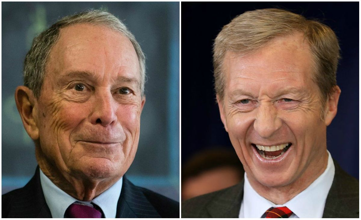 Michael Bloomberg Steyer 2020 odds