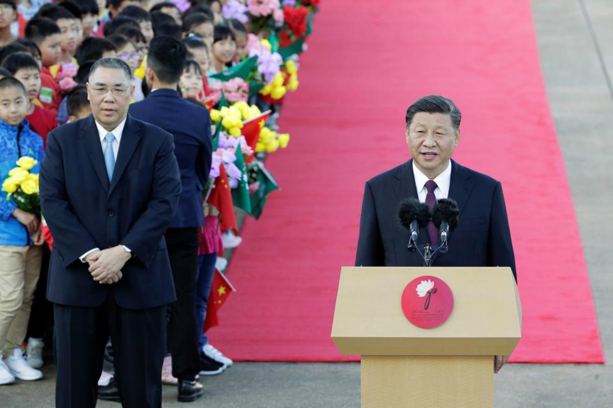China Xi Jinping Macau anniversary