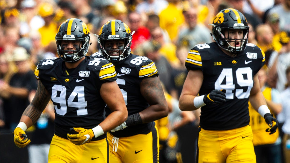 college football odds Iowa USC