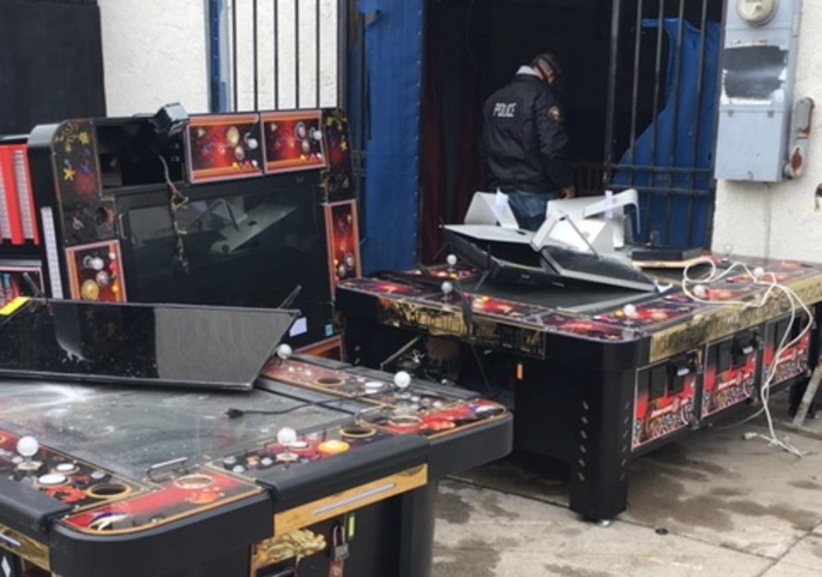 Long Beach Police illegal gambling