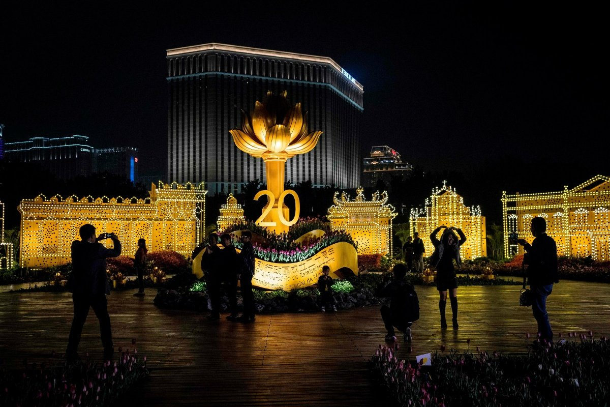 Macau casino China Xi Jinping